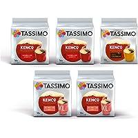 Tassimo Coffee Kenco Bundle - Kenco Americano Smooth / Americano Grande / Pure Colombian pods - Paquete de 5 (80 porciones)