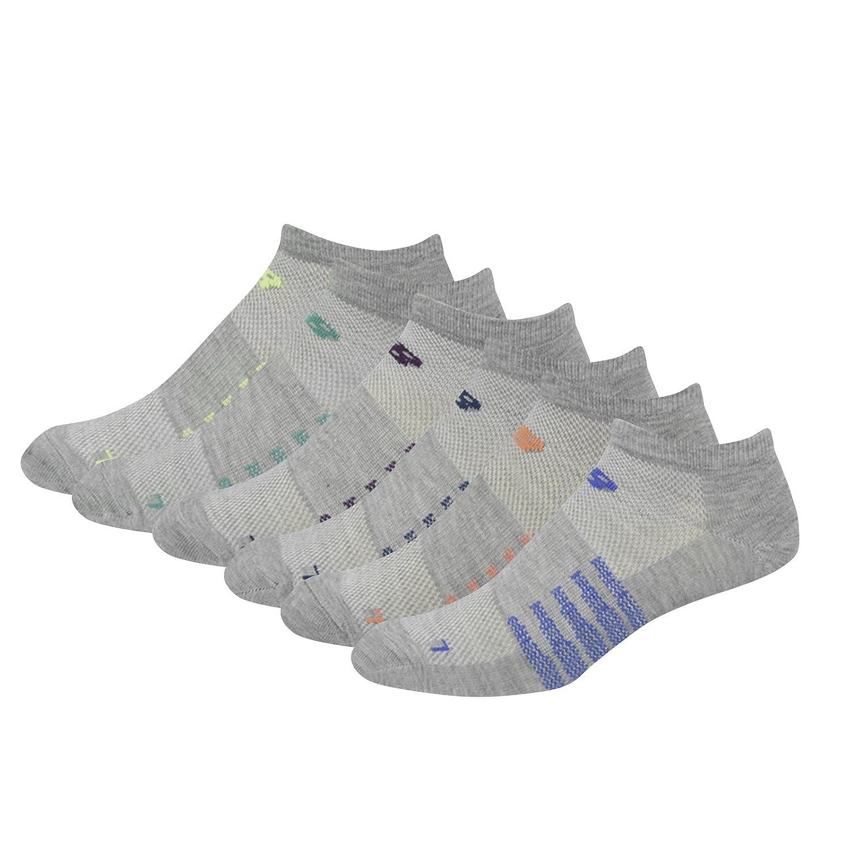 New Balance Kids Unisex 6 Pack No Show Socks