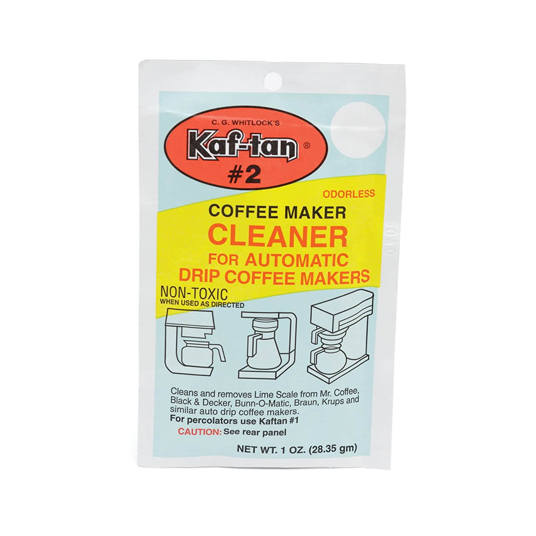 Tops 55725 Kaf-Tan #2 Coffeemaker Cleaner/De-Limer, 1-Ounce