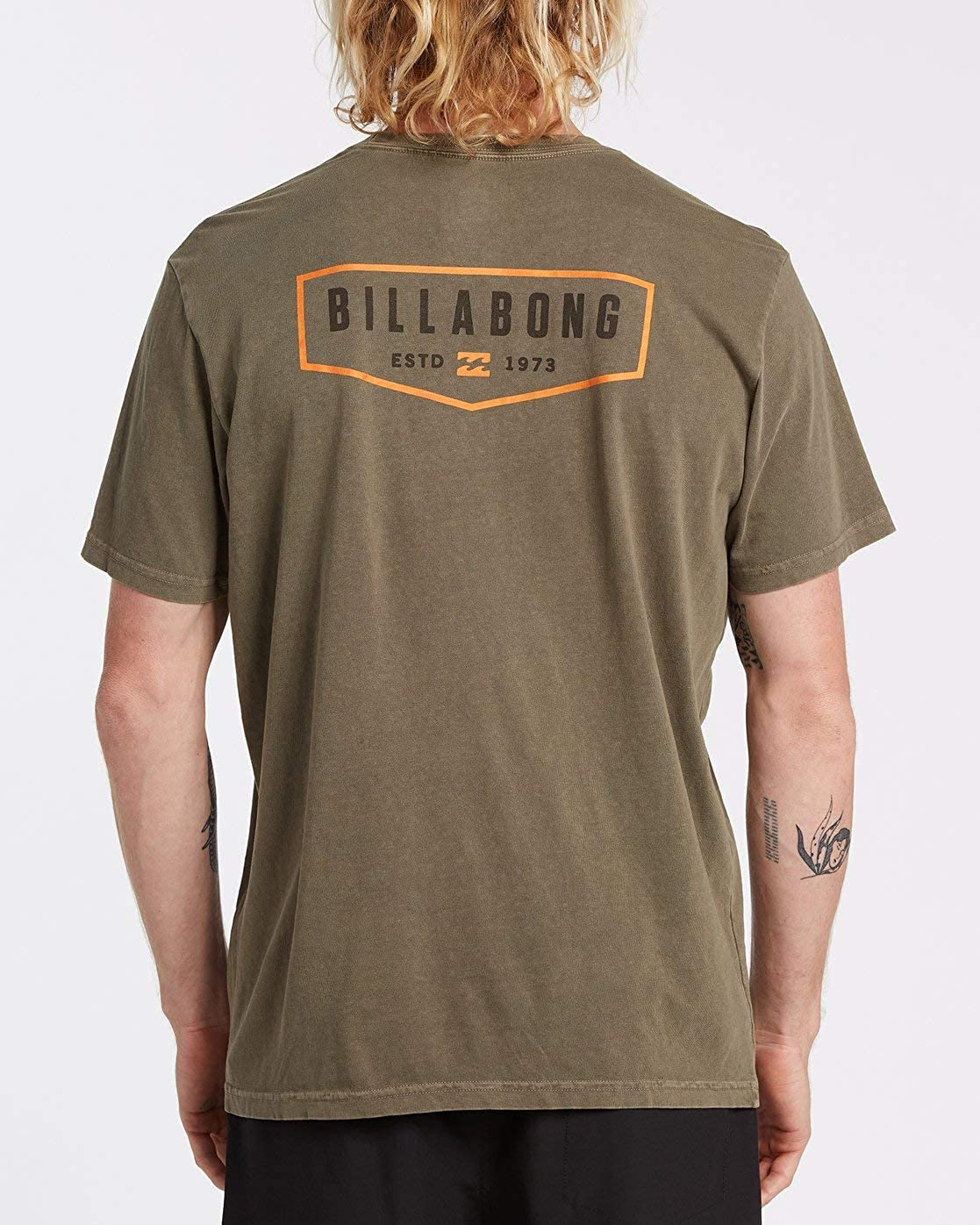 Billabong General Camiseta de manga corta - Verde - Medium ...