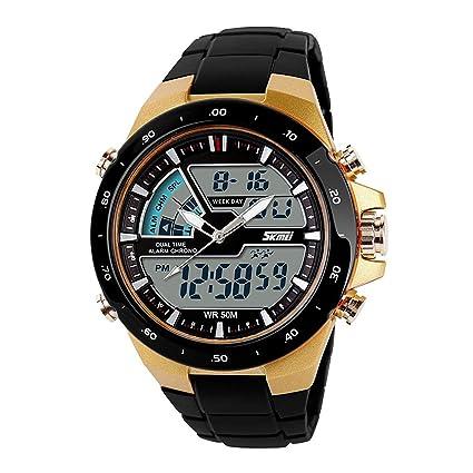 Amazon.com: SKMEI reloj deportivo digital para hombres con ...
