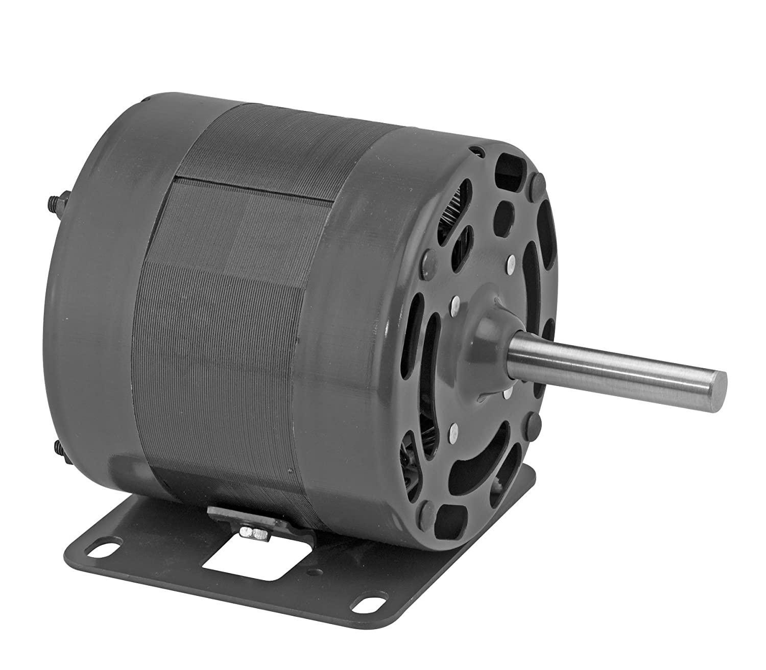"""Top Fasco D1006 4.4"""" Frame Open Ventilated Shaded Pole OEM Replacement Motor with Sleeve Bearing and Rigid Base Mount, 1/4HP, 1600rpm, 115V, 60Hz, 7.2 amps free shipping"""