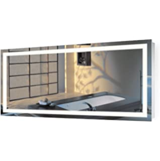 vanity mirror 36 x 60. large 60 inch x 30 led bathroom mirror | lighted vanity includes dimmer 36