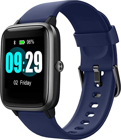 Updated 2019 Version Smart Watch for Android iOS Phone, Activity Fitness Tracker Watches Health Exercise Smartwatch with Heart Rate, Sleep Monitor ...
