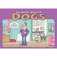 Wacky World of Dogs A4 Calendar 2022