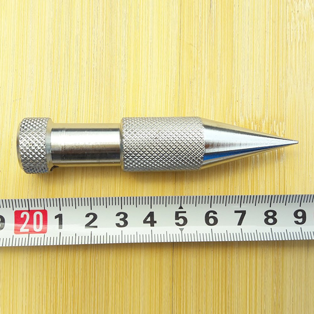 Godagoda Schnurlot cylindrical-formed Senklot mit Schnur Legierter Stahl Bauwerkzeuge 9cmx1.5cm