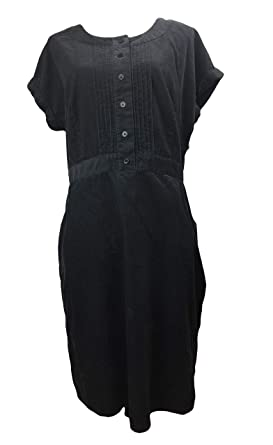 afe4abcb655d2 Image Unavailable. Image not available for. Color: BODEN Casual Pintuck Cord  Corduroy Dress WH460 Size ...