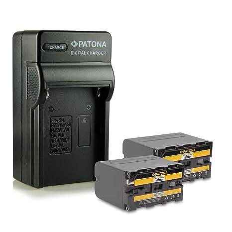 Bundle - 4en1 Cargador + 2x Batería NP-F970 NPF970 para Sony Camcorder Sony CCD-TR Series | CCD-TRV Series | Sony DCR-TR Series | Sony DCS-CD | Sony ...