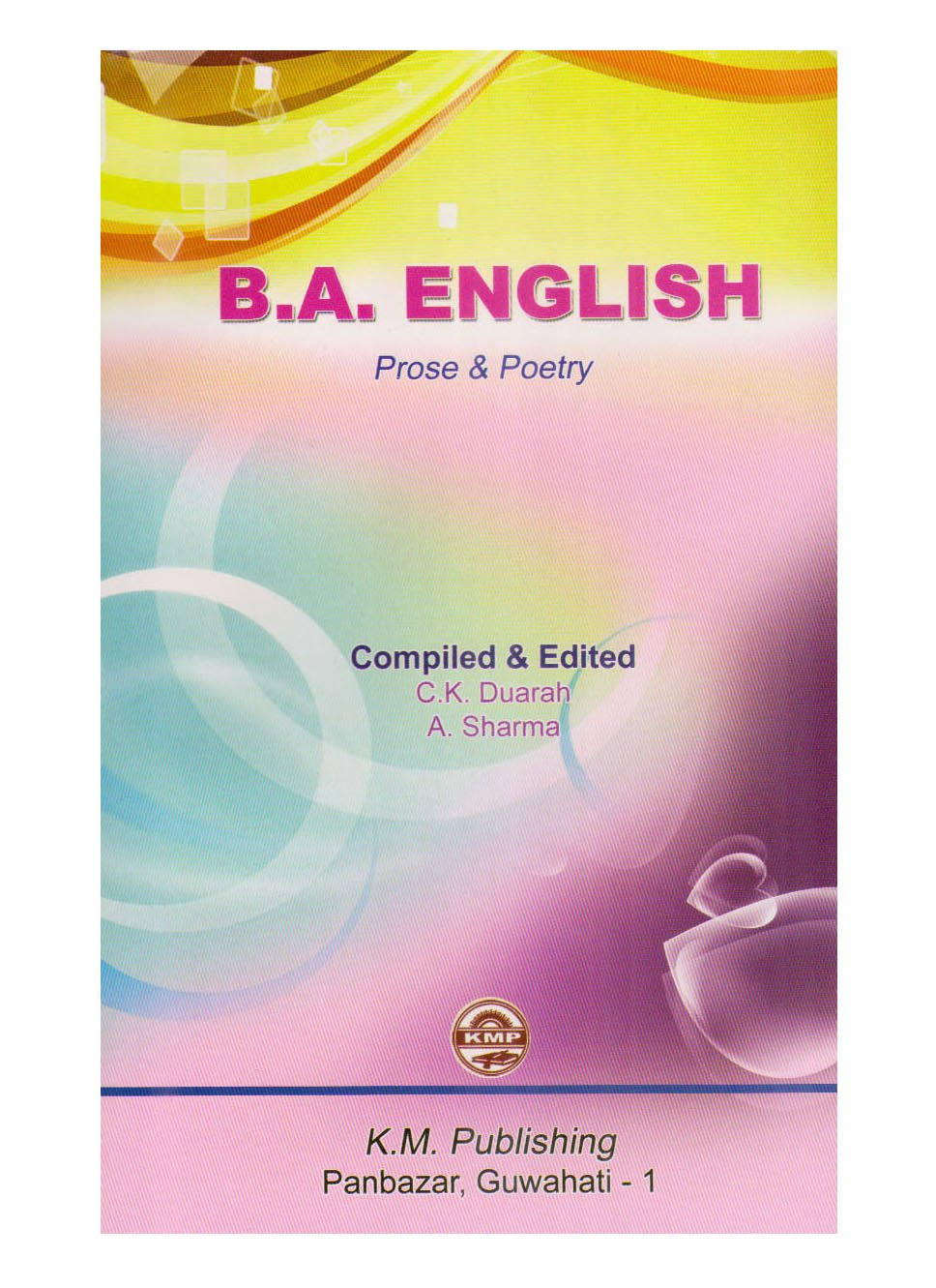 Buy B A  English, Prose and Poetry Book Online at Low Prices in