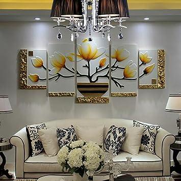 WANGHH Wohnzimmer Dekorative Malerei Moderne Minimalistische  Blumenmalerei,A 100*230