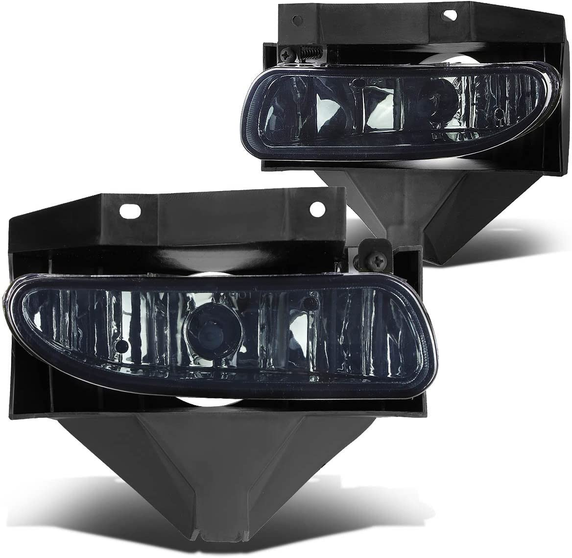Smoked DNA motoring FL-ZTL-115-SM Front Bumper Fog Light Pack of 1
