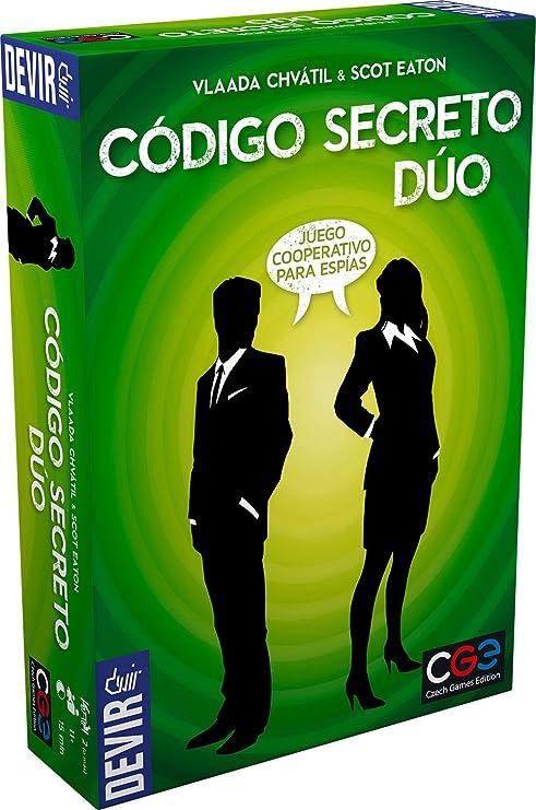 Devir- Código Secreto Dúo, única (Bgcosed): Amazon.es: Juguetes y ...