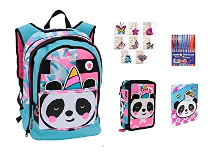 Mochila Escolar Go Pop Pandacorno Pop-Up Extensible 5 ...