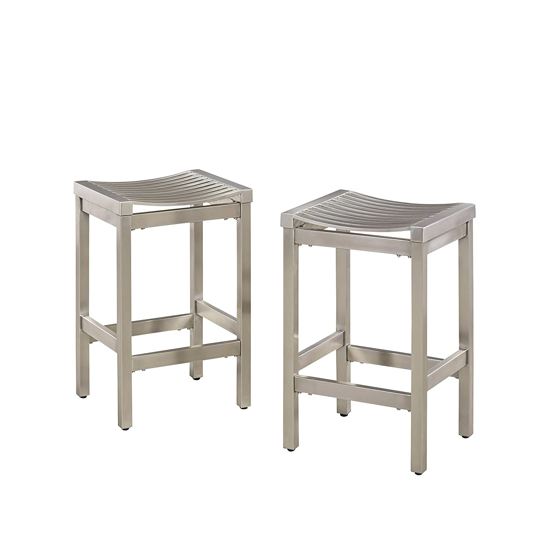 Amazing Amazon Com Pittsburgh Stainless Steel Stool Set Of 2 By Uwap Interior Chair Design Uwaporg