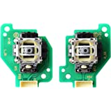 Gam3Gear Analog Stick with PCB Board for Nintendo Wii U GamePad Controller Left Right Set