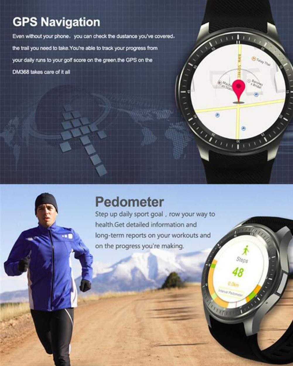 WYXIN Smartwatch DM368 3G WiFi Android 5.1 - KingWare Reloj ...
