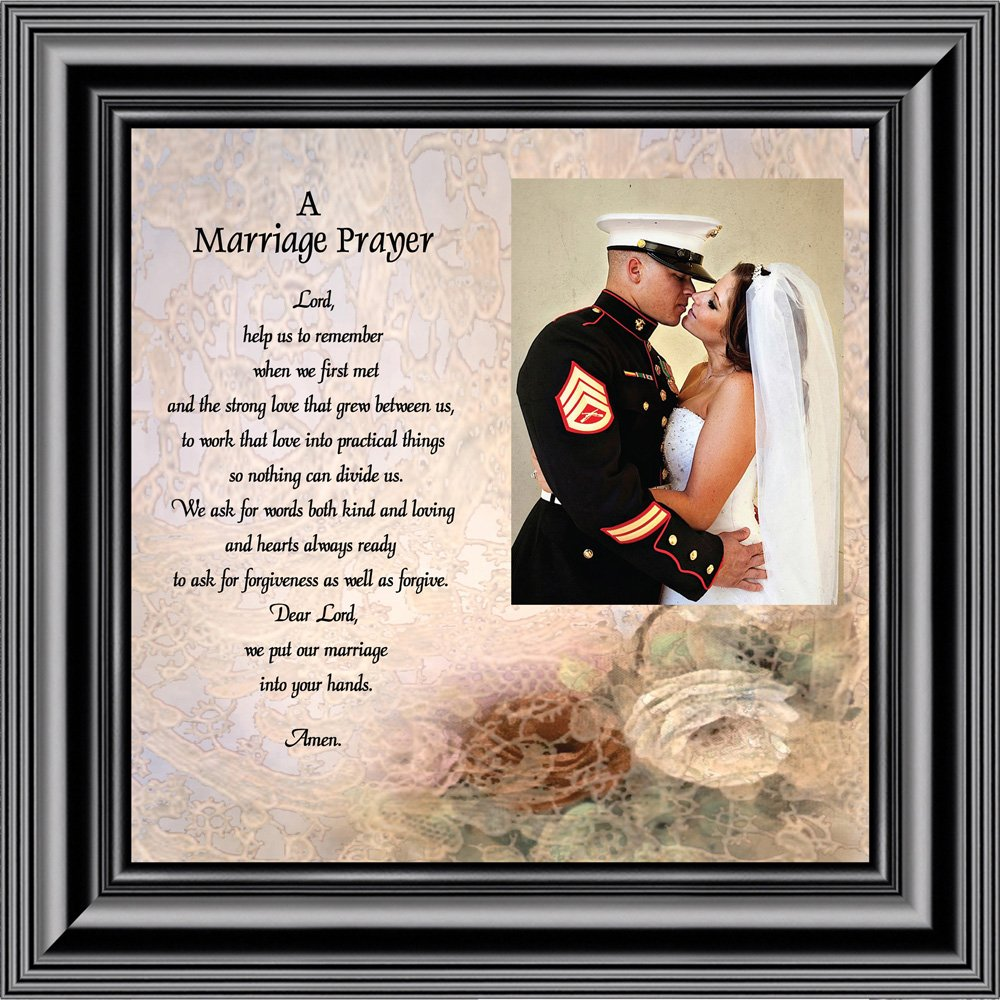 Prayer for you Marriage, Personalized Picture Frame, 10X10 6757 (10x10, Black2)