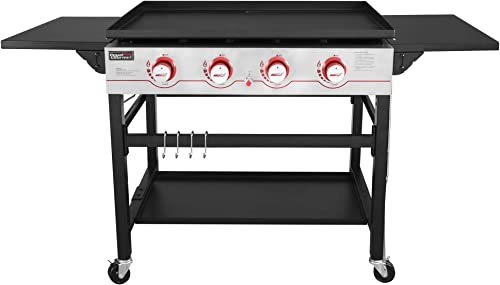Royal-Gourmet-GB4000-36-inch-4-Burner-Flat-Top-Propane-Gas-Grill-Griddle