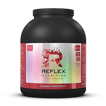 Reflex Nutrition - Proteina Vegana con Sabor Fresa, 2.1 kg ...