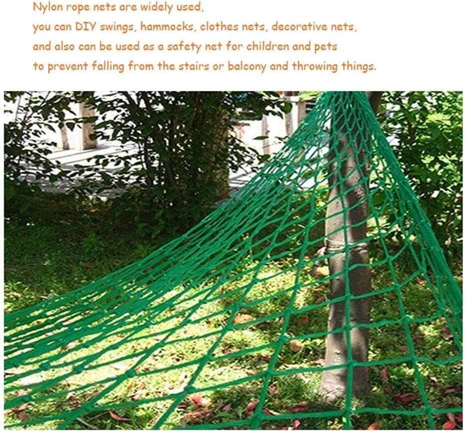 Size : 1 * 2m 3 * 6ft Safety Fall arrest net Cargo Cover Railer Net Container Safety Grid Net For Securing Trailer Loads Various Sizes Car Van Truck Trailer