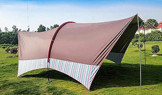 Cenador para Terraza Jardín Patio - Toldo para Eventos al Abierto, Event Shelter, ienda de Protección UV con Paneles Laterales para Playa, Festivales y Camping (600x420x220cm): Amazon.es: Jardín