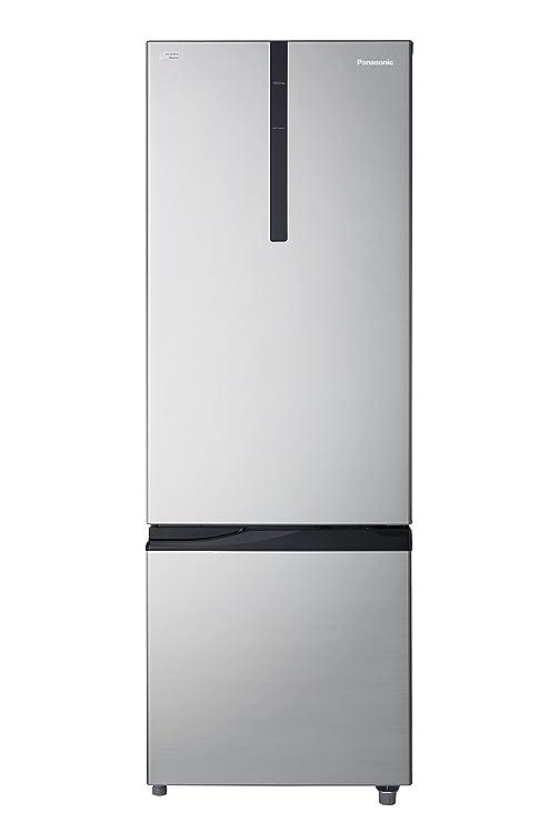 Panasonic 342 L 2 Star Frost Free Double Door Refrigerator NR BR347RSX1, Shining silver, Inverter Compressor, Bottom Freezer  Refrigerators