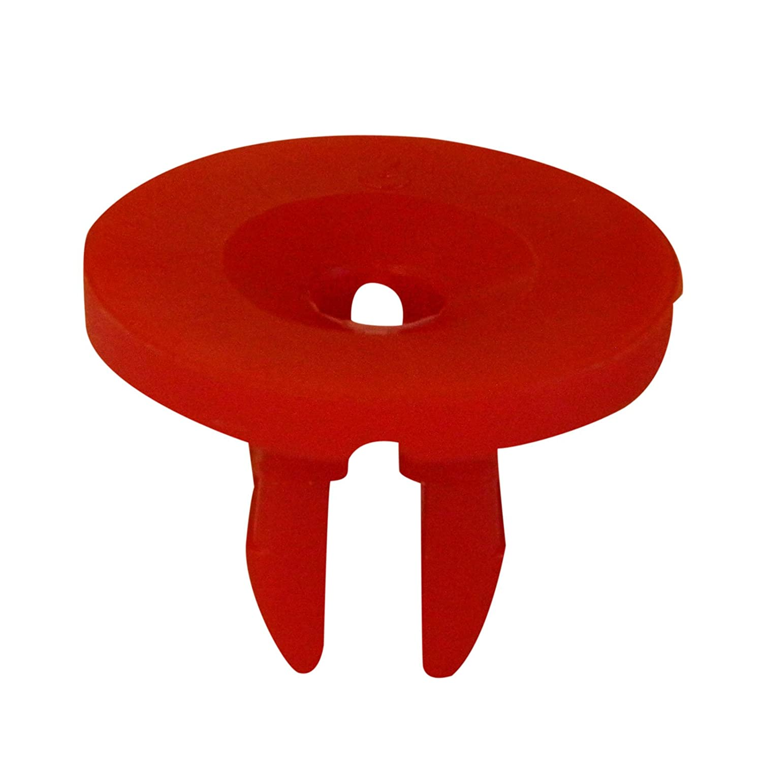 Bross BCF380 10 Pieces Screw Nut; Red for Ford: 1019377, W704408S Mercedes: 0009889325 Bross Auto Parts