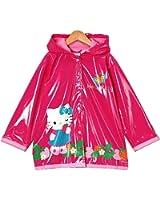 Amazon.com: Sanrio Hello Kitty Girl's Red Rain Coat - Size 2T ...