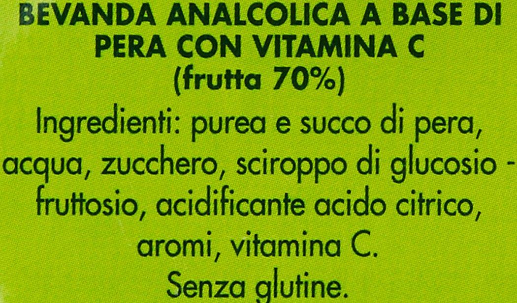Amazon.com : Succhi di Frutta - Saft -Pera/Birne- 6x0, 125l : Grocery & Gourmet Food