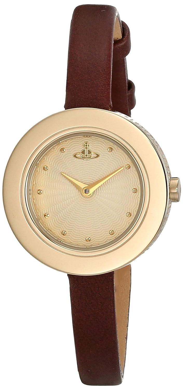 Vivienne Westwood Damen-Armbanduhr Leder VV097GDBR