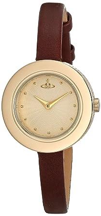 915df44fe46 Vivienne Westwood Ladies Edge Watch VV097GDBR: Amazon.co.uk: Watches