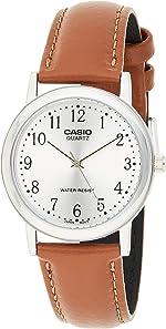 Casio Men's Leather watch #MTP1095E7B