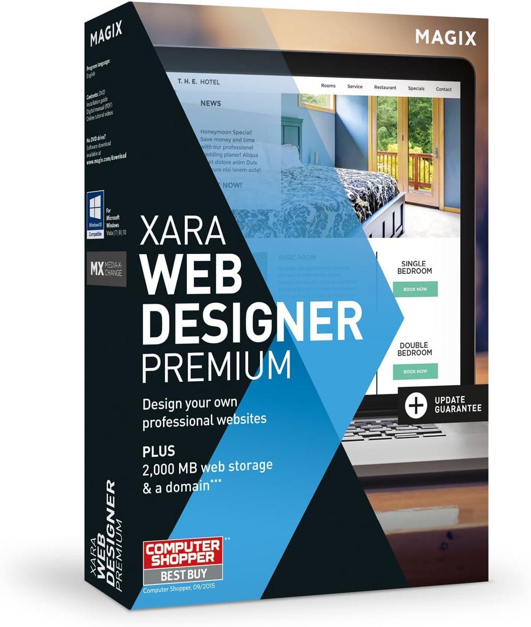 Amazon Com Xara Web Designer Premium 15 Create Your Own Professional Websites Software