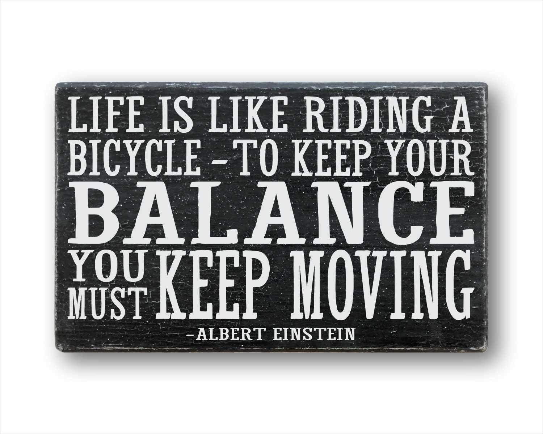 43LenaJon Signo de Bicicleta Cita Ciclismo Arte la Vida es como ...