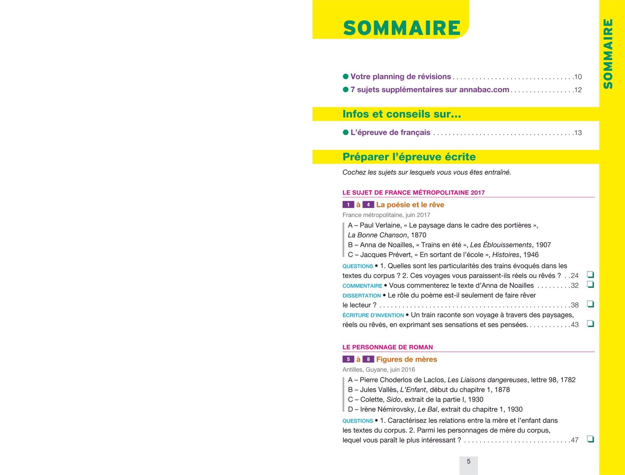 Annales Annabac 2018 Français 1re STMG, STI2D, STD2A, STL, ST2S: sujets et corrigés du bac Première séries technologiques: 9782401030336: Amazon.com: Books