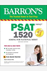 Barron's PSAT/NMSQT 1520 with Online Test (Barron's Test Prep) Paperback