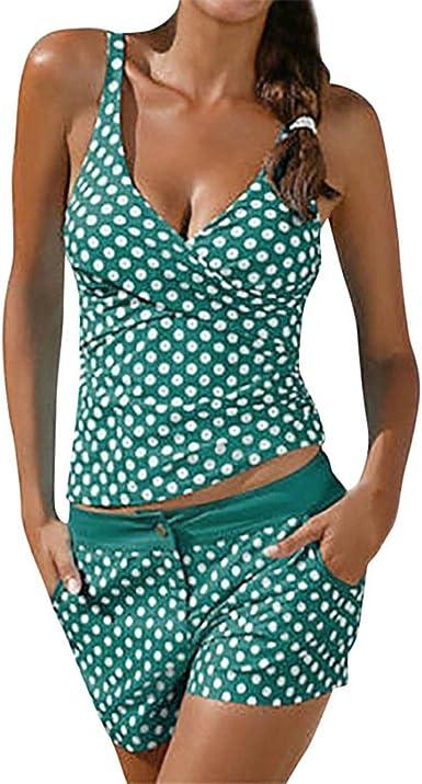 Femme Push Up Beach Wear Maillot de bain nouveau tankini femmes Rétro Vintage Maillots de bain