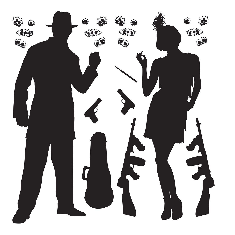 Amazon.com: Gangster Props Party Accessory (1 count) (24/Pkg ...