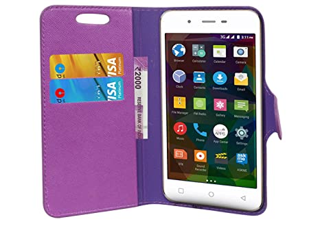 buy online 29020 49c24 TIMBU Flip Flap Cover Case with Wallet: Amazon.in: Electronics