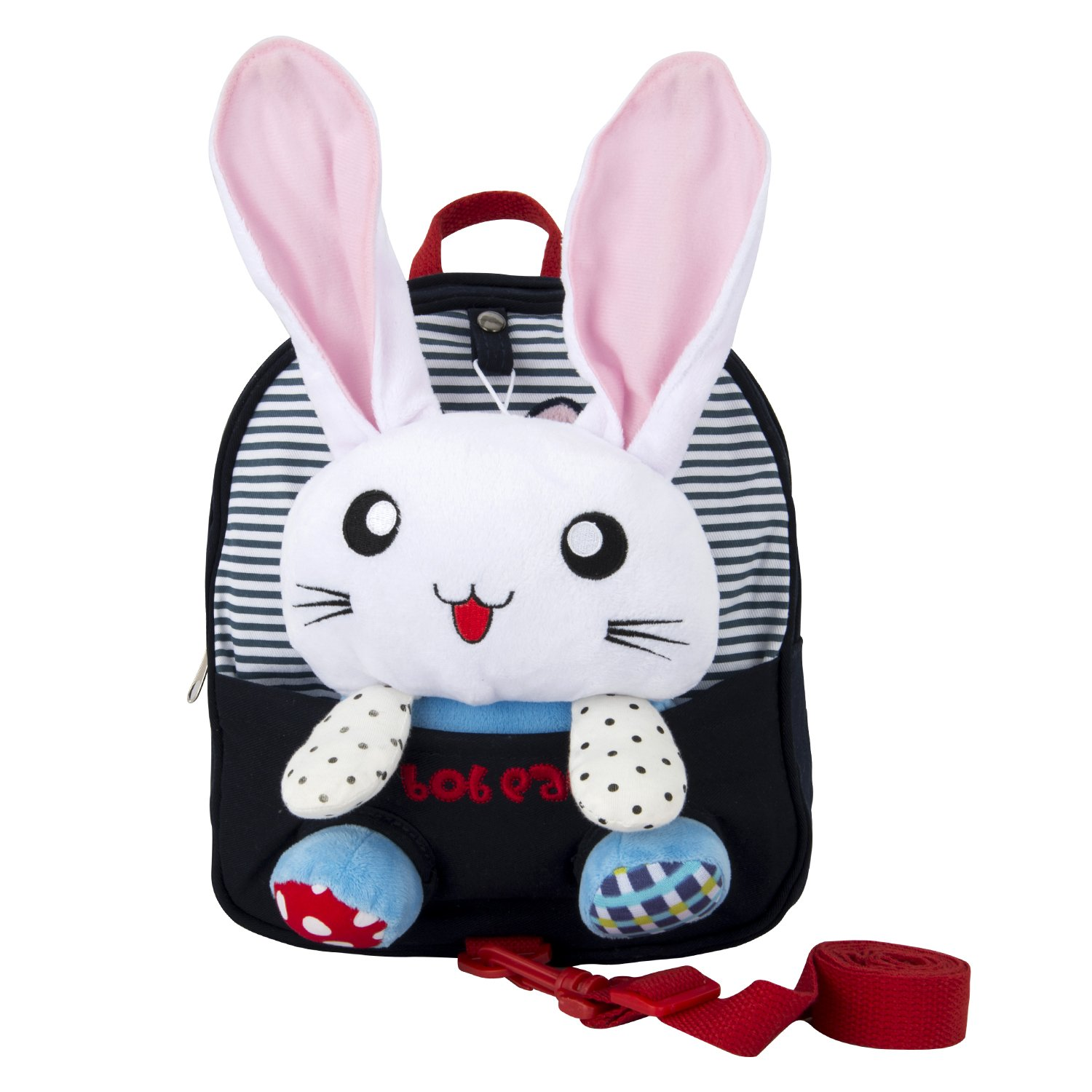 Coavas Baby Safety Harness Backpack 1-3 Y Kids Backpack with Leash and Removable Stuffed Animals Rabbit