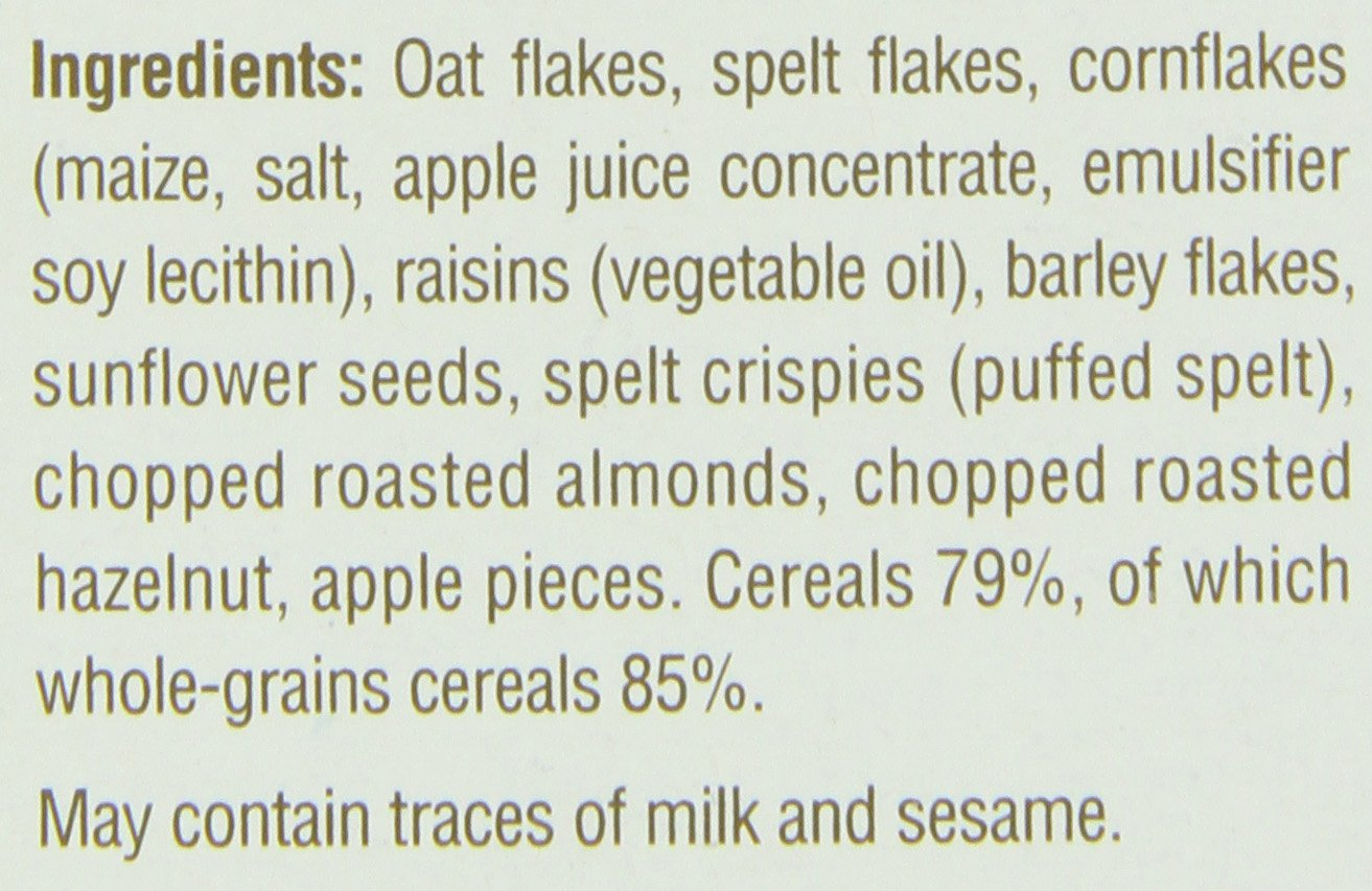 Familia Swiss Balance Muesli Cereal, No Added Sugar, 21-Ounce Box (Pack of 6) by Familia (Image #3)