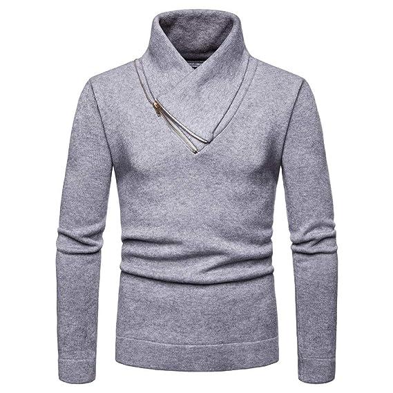 Sliktaa pour des Hommes Pullover Pull Sweater en Tricot