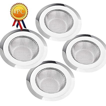 Amazon.com: Colador de fregadero de malla para cocina, de ...