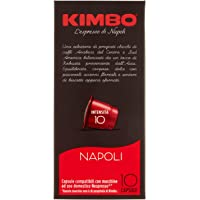 KIMBO Nespresso Napoli Coffee Capsules, 55 g (Pack of 10 Pieces)