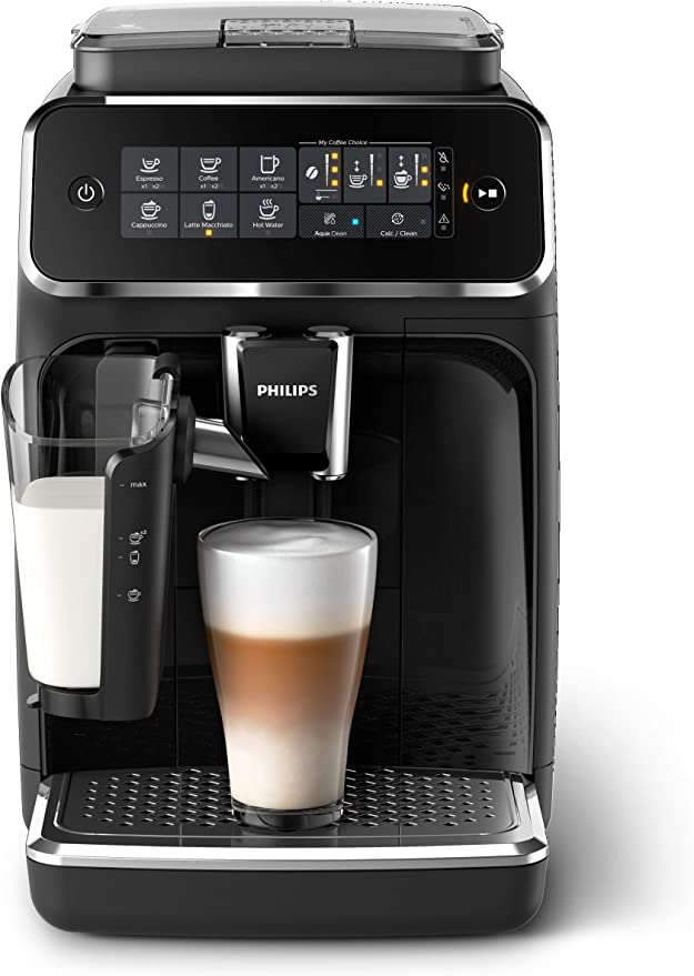 Amazon.com: Philips 3200 Series Fully Automatic Espresso Machine w/ LatteGo, Black, EP3241/54: Kitchen & Dining