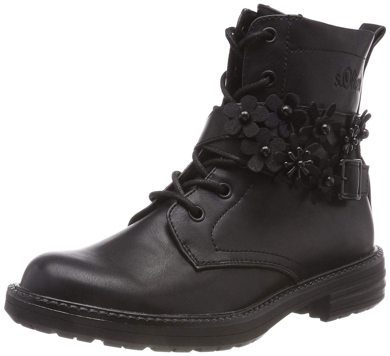 S.Oliver Damen 5-5-25232-21 001 Combat Stiefel