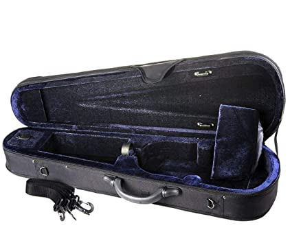 ADM 4//4 Full Size Basic Professional Triangular Shape Super Light Suspension Violin Hard Case