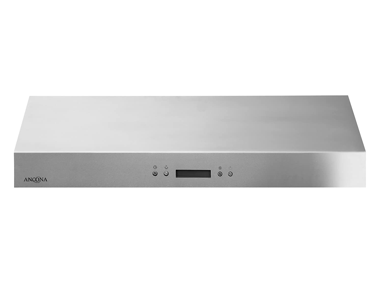 Amazon Com Ancona Ucc630 Under Cabinet Range Hood 30 Inch Stainless Steel Appliances