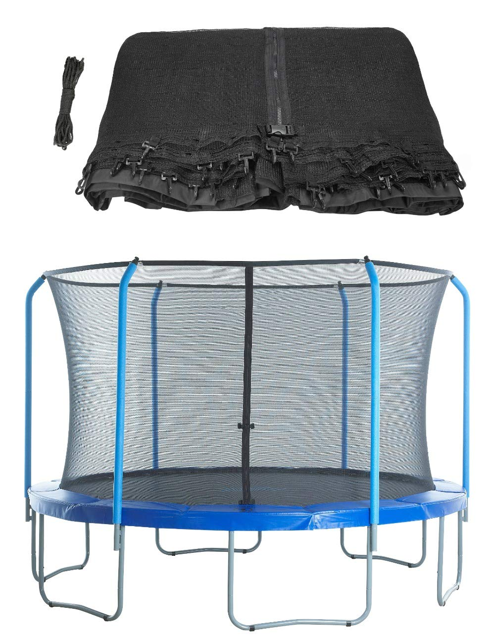 Trampoline Replacement Safety Net for Top Ring Enclosure System, By Upper Bounce -NET ONLY by Upper Bounce