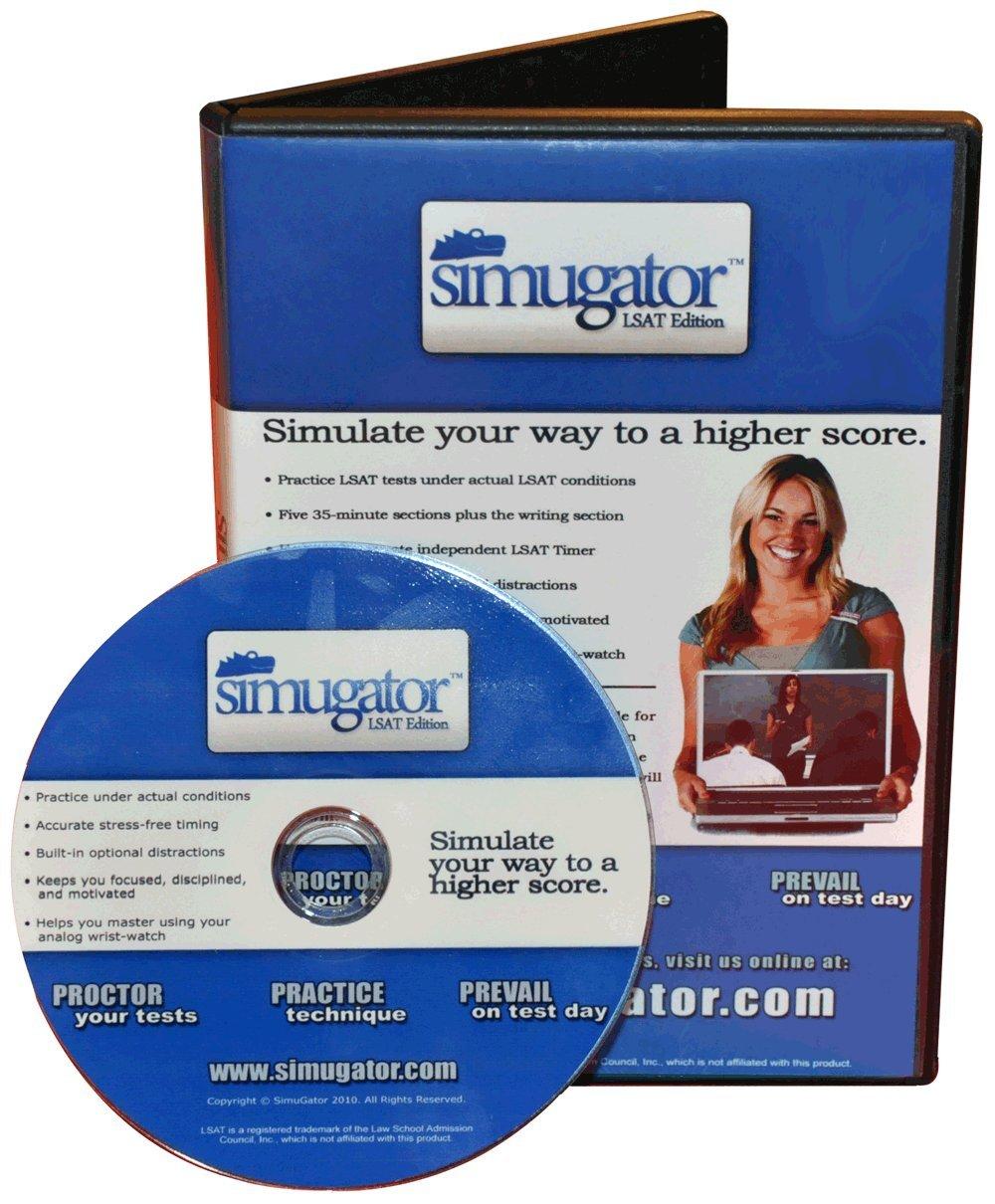 Amazon.com: SimuGator: LSAT Proctor DVD (Test-Day Simulation for LSAT  PrepTests)